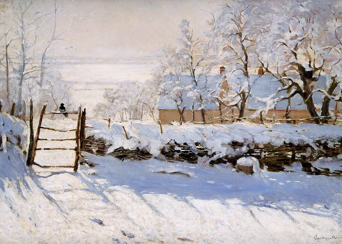 Picture of Monet's 'The Magpie'