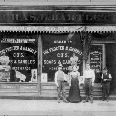 Proctor and Gamble shopfront, 1880s
