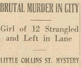 The press report the murder of Alma Tirtschke