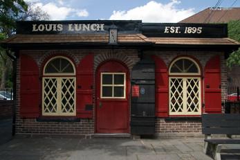 Fletcher Davis' cafe in Athen, Texas. The home of the hamburger?