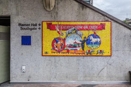 Wirth's Circus mosaic