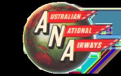 Australian National Airways logo