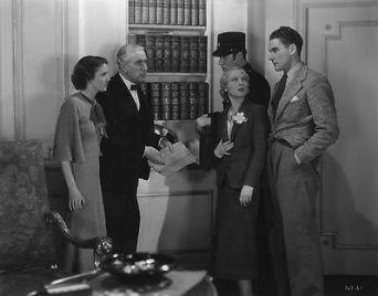 A still from 'Murder at Monte Carlo', the film that lead Flynn (right) to a Hollywood contract.