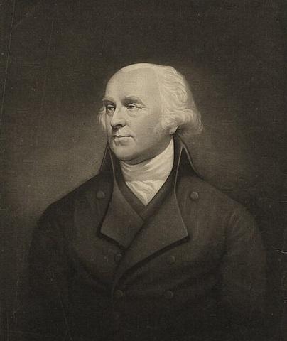 Portrait of English artist Robert Barker