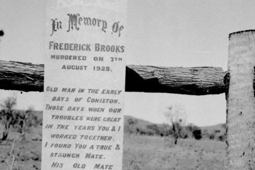 Memorial plaque for Frederick Brooks.
