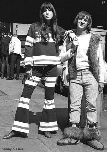 Cher in flares, early 70s.