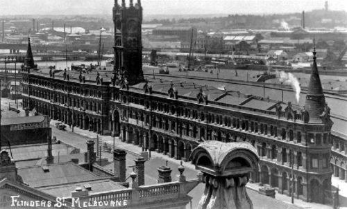 Melbourne's Lost Buildings: Melbourne Fish Markets