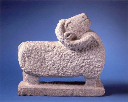 A sheep, by William Edmondson