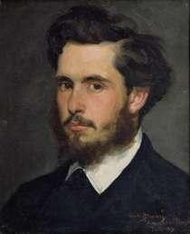 Monet as a young man