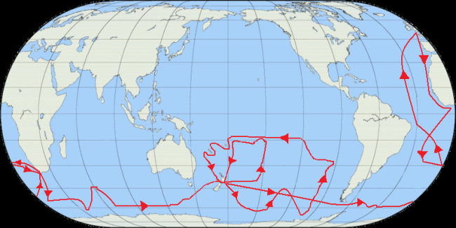 The second voyage of Captain Cook