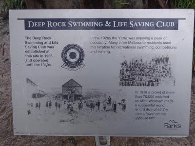 Commemorative plaque, Yarra Bend Park