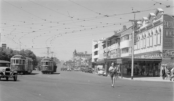 Fitzroy Street, St Kilda, 1940s