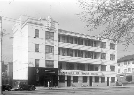 Prince of Wales Hotel, St Kilda, WWII era