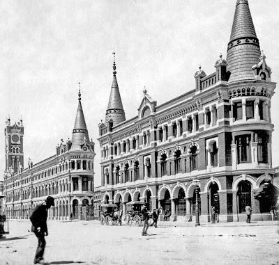 Melbourne's Lost Buildings: The Melbourne Fish Markets