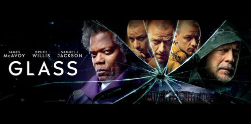Movie poster for the film 'Glass'