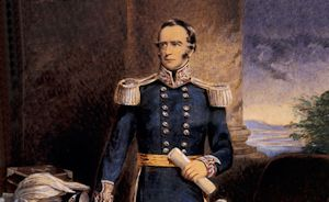 Governor Charles La Trobe.