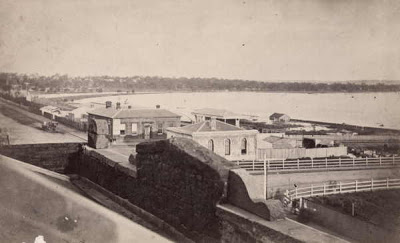The location ofMelbourne's first morgue, 1871