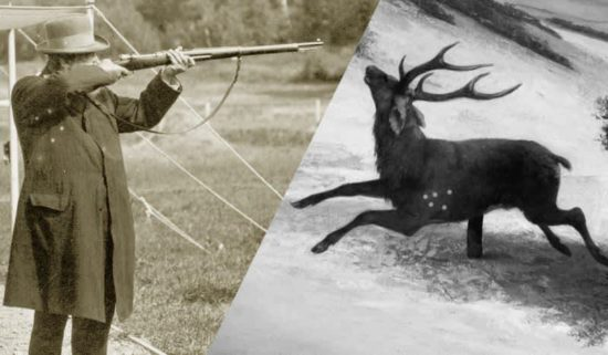 Discontinued Olympic Sports: Running Deer