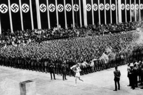 The Olympic torch in Nazi Germany
