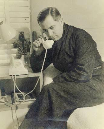 Publicity shot of Harold Holt.