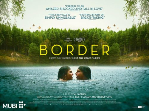 Movie poster for the film 'Border'