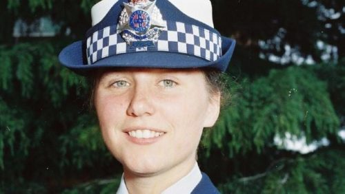 Constable Angela Taylor, victim of the Russell Street bombing