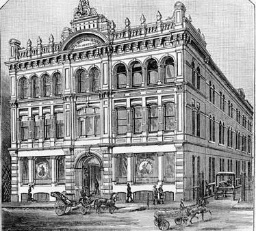 Melbourne's Mutual Store, original design