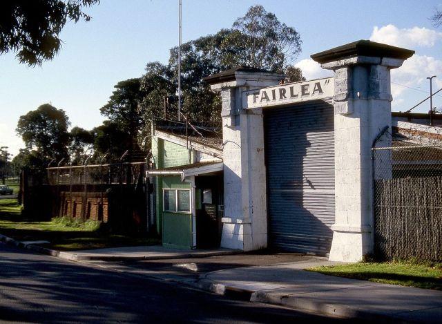 The entrance to the former Melbourne women's prison, Fairlea