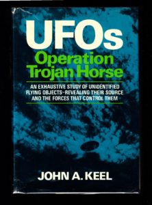'Operation Trojan Horse', a book about UFO conspiracy theories