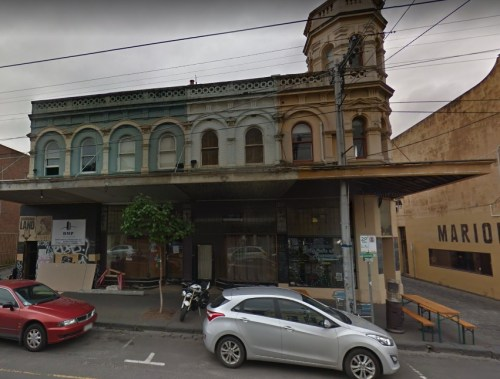 Former location of The Koorie Club.
