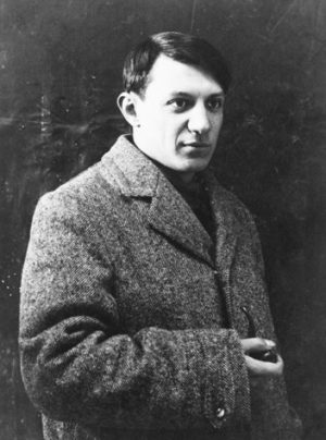Picasso as a young man