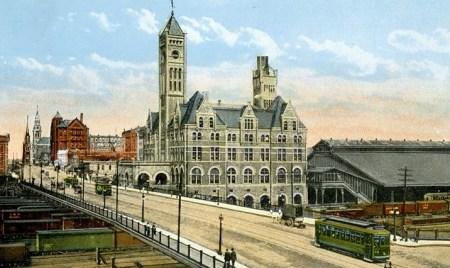 Union Station, Nashville, circa 1900.