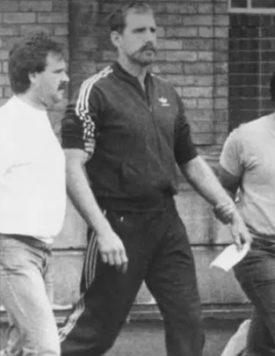 Phillip Grant Wilson on his way to court