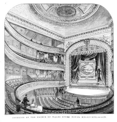 The Prince of Wales Theatre, shortly after opening.