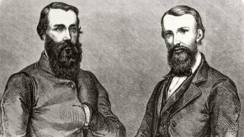 Portrait of Burke and Wills
