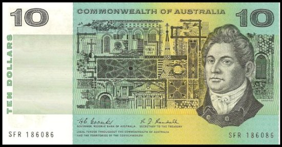 The man on the $10 note: Francis Greenway