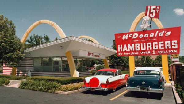 An early McDonalds franchise