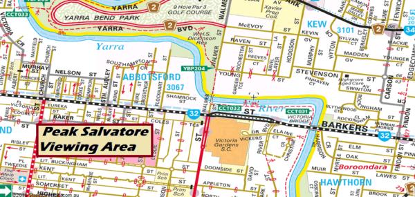Salavtore: the Yarra Seal, viewing area