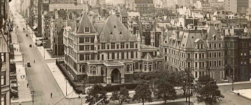 New York's lost buildings: The Vanderbilt mansion, on 5th Ave.