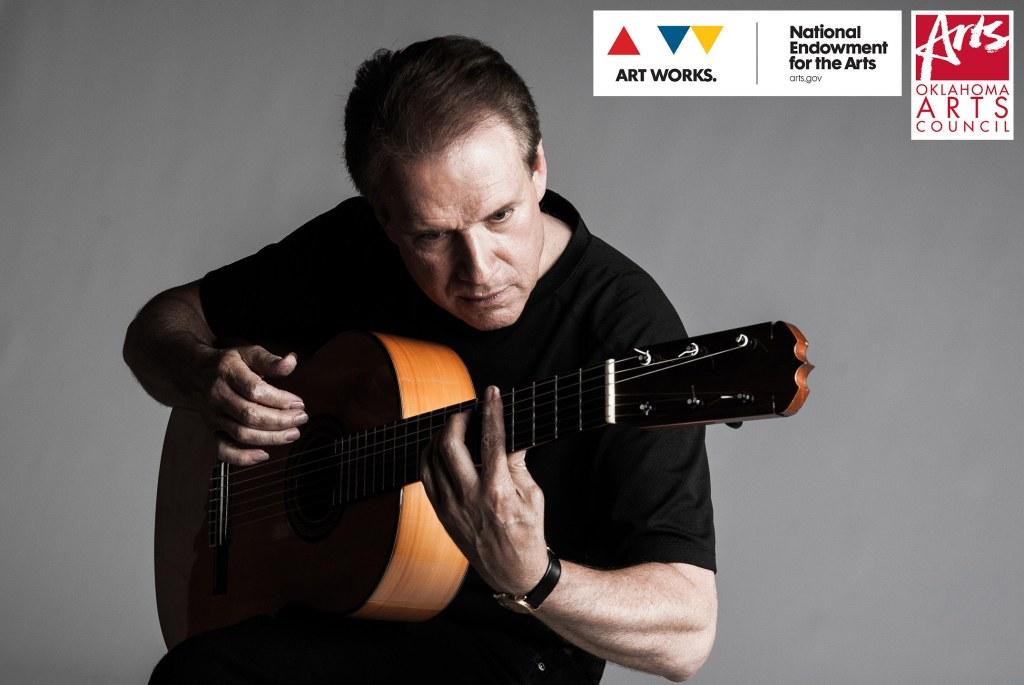 Flamenco guitarist Ronald Radford