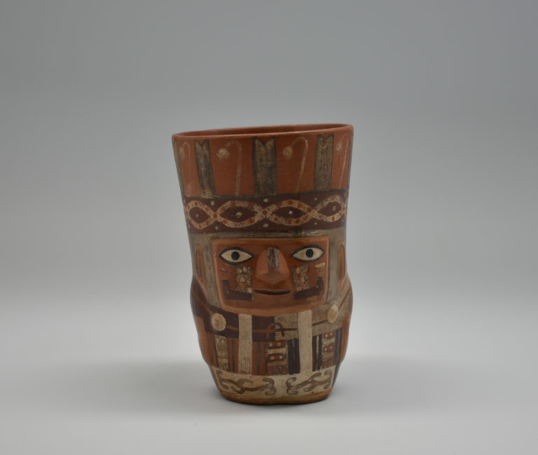 Cup with human and jaguar effigies, ca. 900 – 1100.