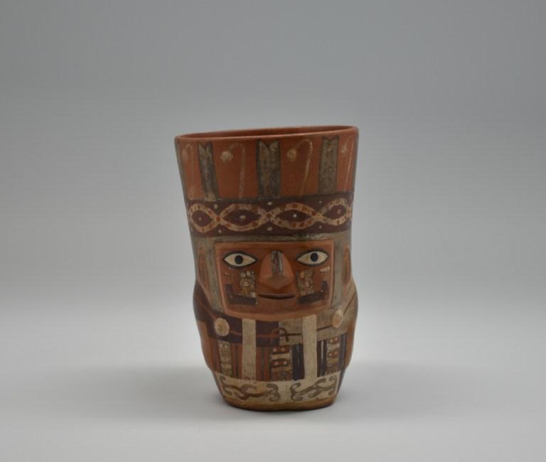 Cup with human and jaguar effigies, ca. 900 – 1100.