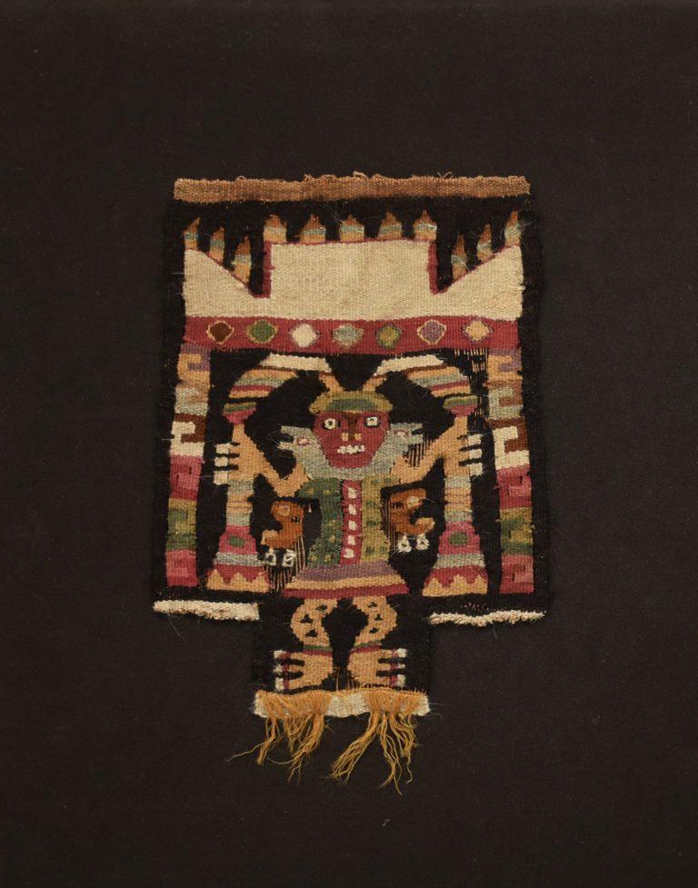 Textile Fragment, ca. 100 – 800. North Coast (Peru).