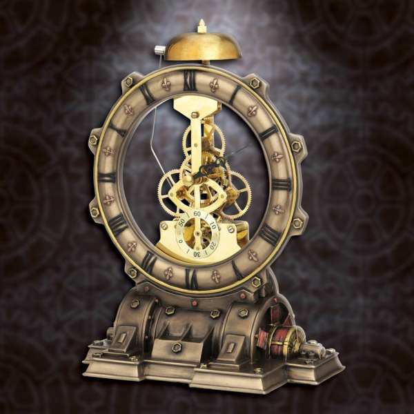 Steampunk Generator Striking Clock