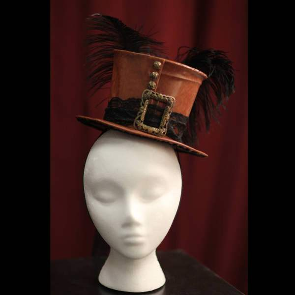 Burlesque Hats with Feathers