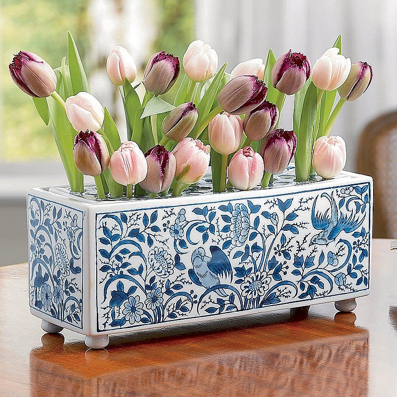 Buy Delft Porcelain Flower Brick from Museum Selection