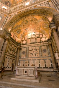 baptistery of san giovanni ceiling