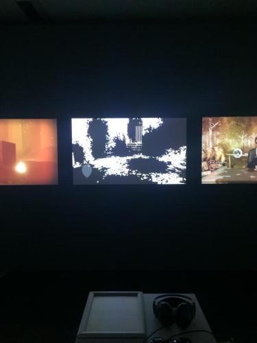 Indie Games im ZKM. Foto: Tanja Neumann