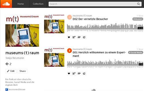 Der neue Podcast auf bei Soundcloud
