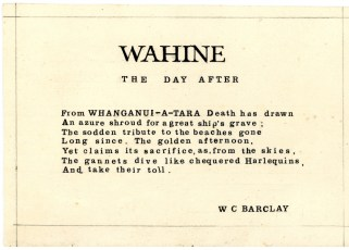 'Wahine: The Day After'